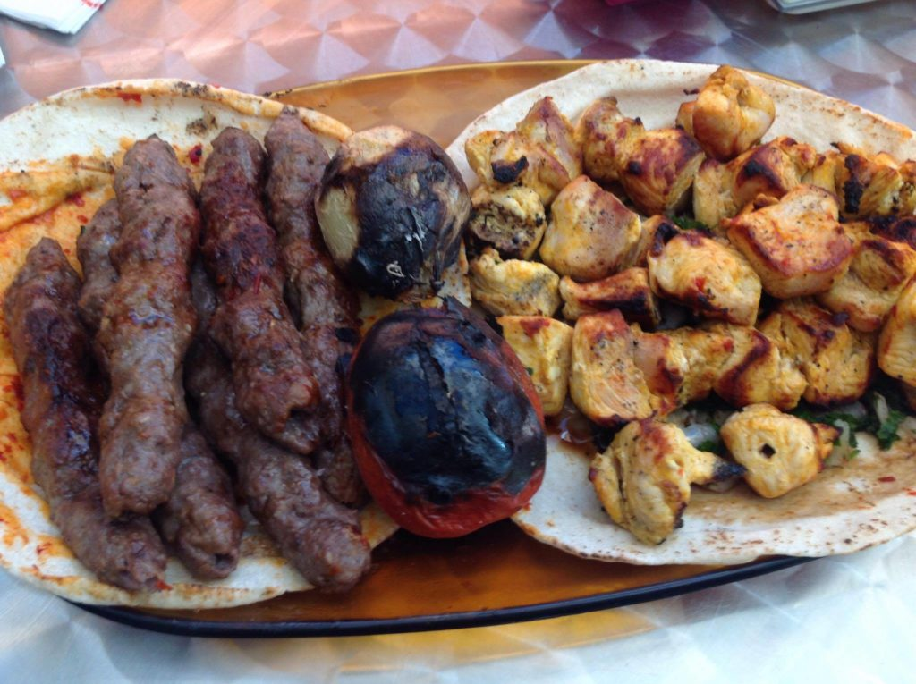 kebab syrian food madrid