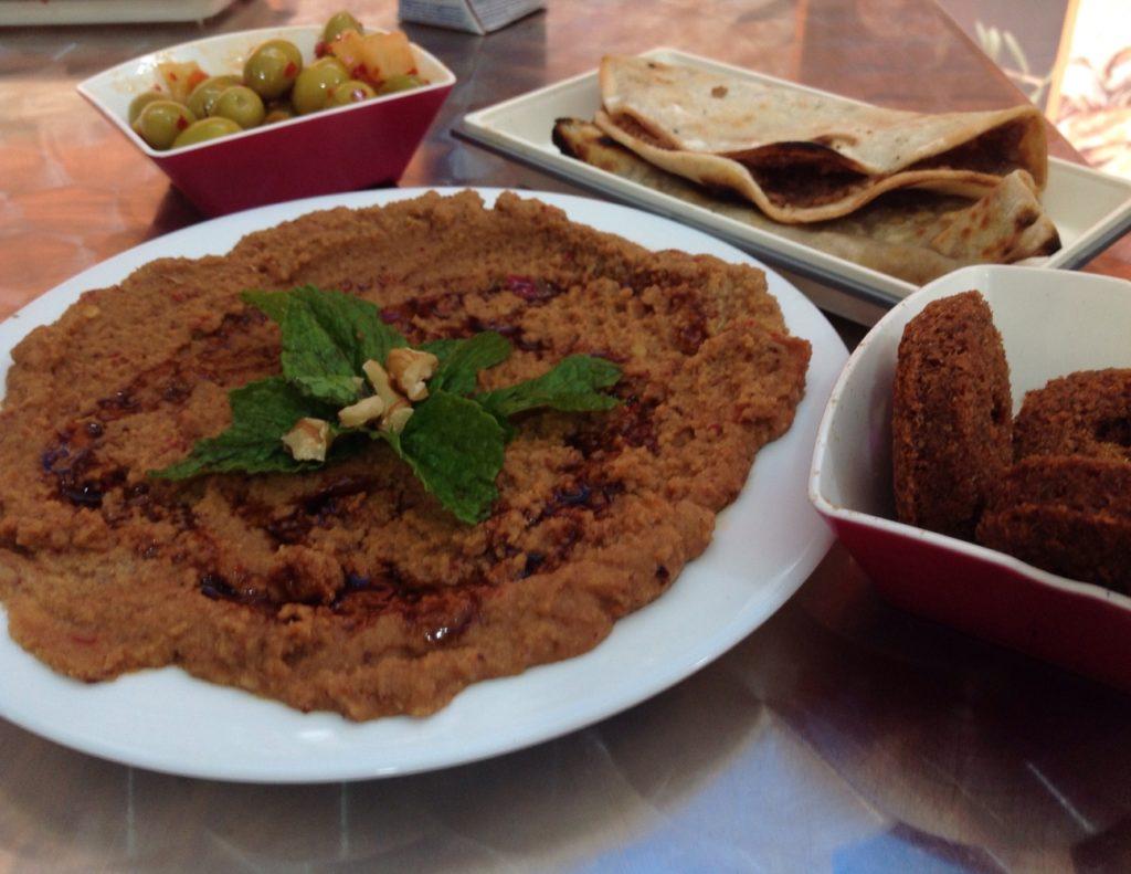 syrian cuisine al-aga madrid