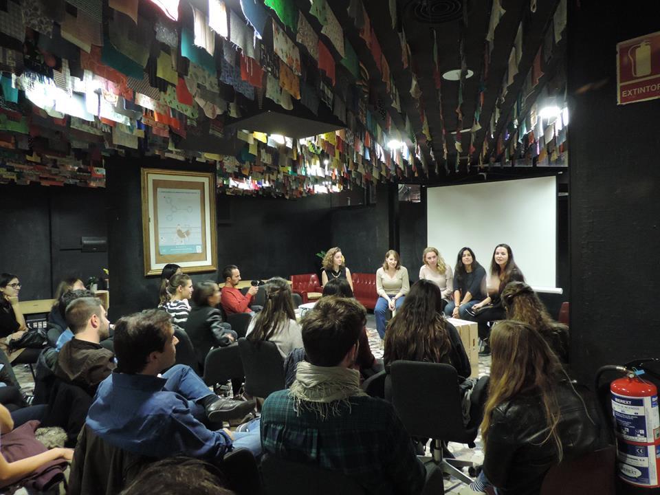 Raising awareness at Impact Hub