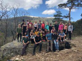 Senderismo, Salud y Felicidad: Caminata de Beneficios y Yoga, 05.05.2018