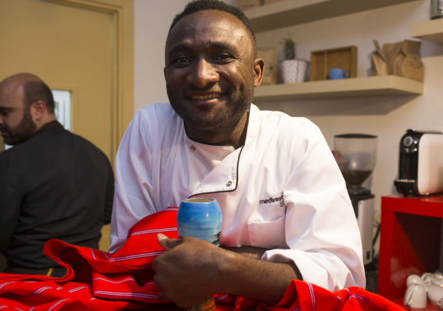 Opening Night of Madrid Refugee Food Festival with Chef Pierre and El Mandela, 19.06.2018