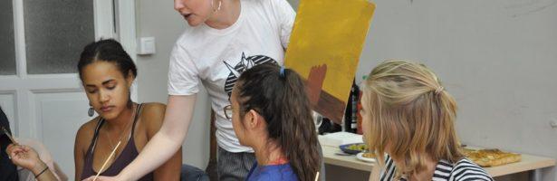 Unwind with Art and Wine: Meet local talent Vesta Rounsaville