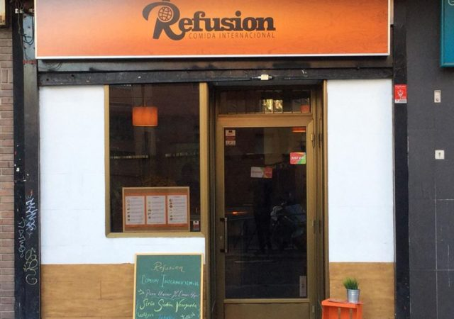 Refusion: A restaurant and food delivery service staffed by Refugee and Migrant Chefs from Syria, Sudan, and Venezuela