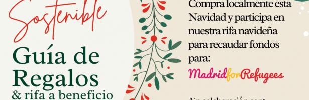 Guía de regalos navideños sostenibles y rifa benéfica