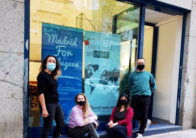 Madrid For Refugees inaugura nueva oficina compartida y colaboración con VeraContent