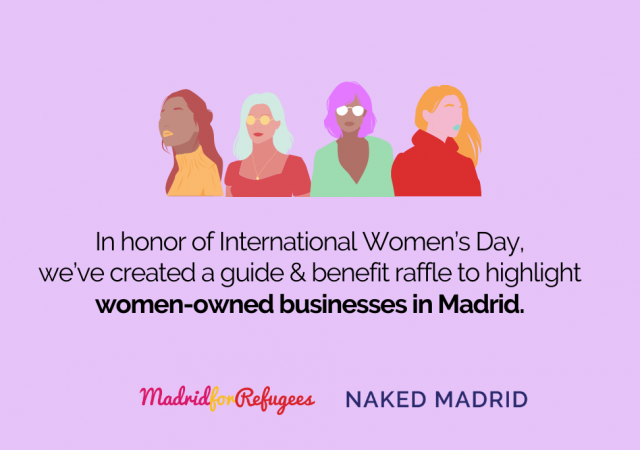 Supporting women-owned business in Madrid: A guide with Naked Madrid & benefit raffle