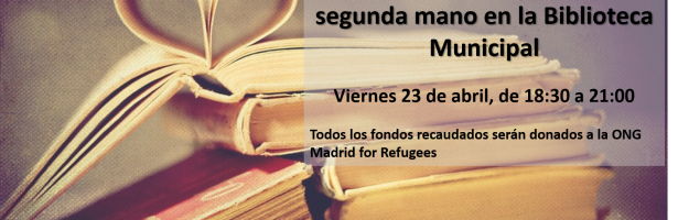Miraflores de la Sierra hosts Book Day evening & collaborates with Madrid For Refugees