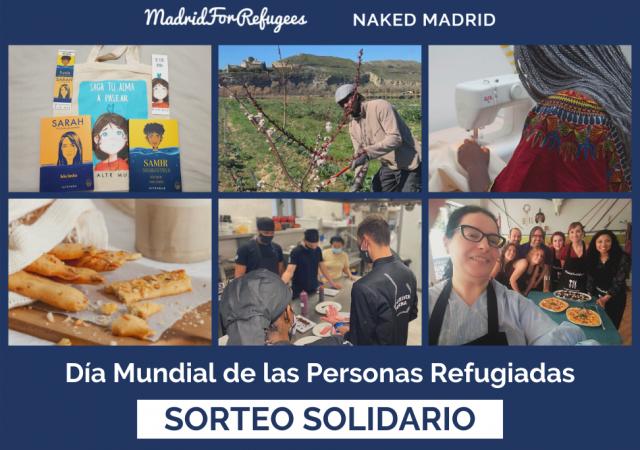 Marca la diferencia! Sorteo solidario para el Día Mundial de las Personas Refugiadas