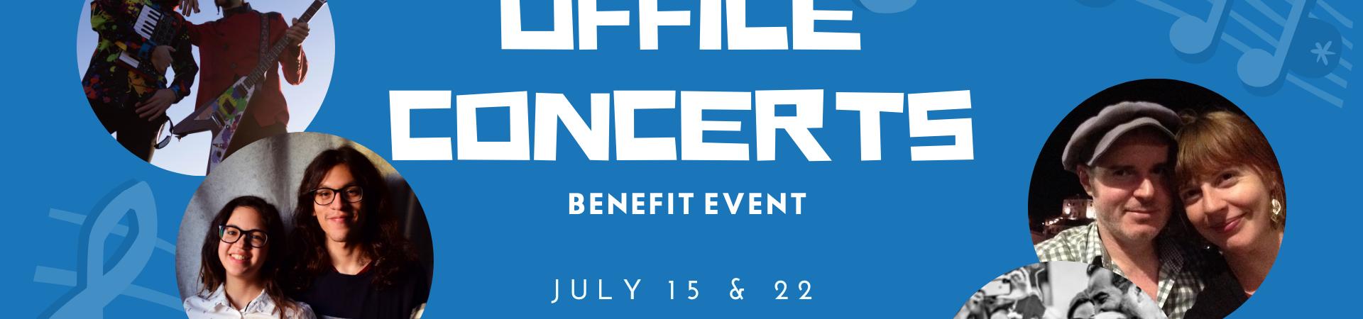 MFR Benefit Concerts 15 & 22 July
