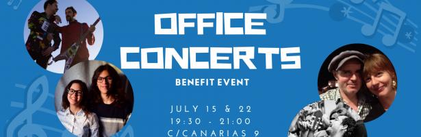 Conciertos benéficos 15 & 22 de julio